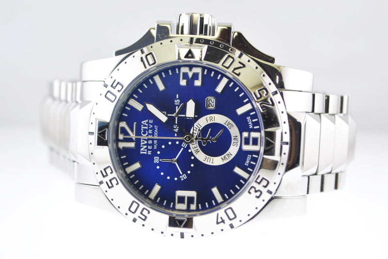 INVICTA Reseve Chronograph Men's Wristwatch in Stainless Steel - $3K VALUE