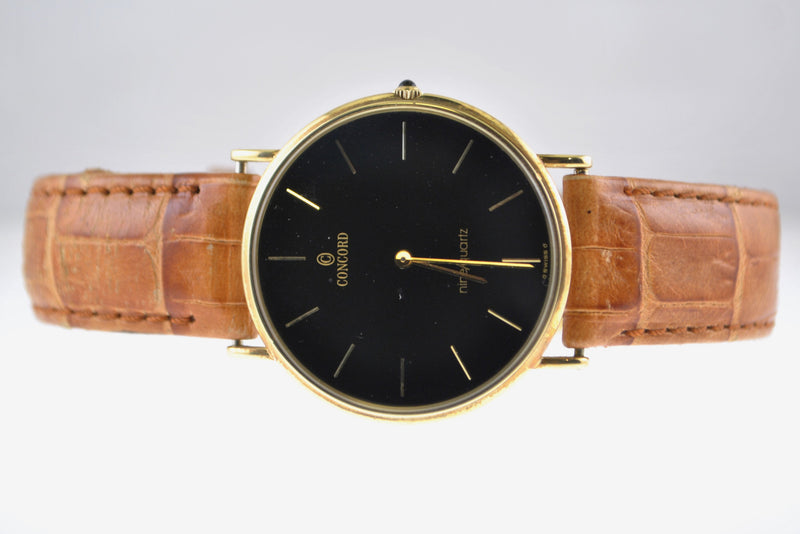 Concord Men's Wristwatch in Solid Yellow Gold - $10K VALUE