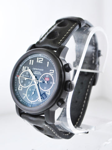 Chopard 1000 Miglia Speed Black Ref. #8407 Automatic Chronograph Wristwatch Titanium - $15K VALUE