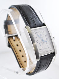 CARTIER Francaise #2303 Stainless Steel Rectangle Chronograph Watch - $8K VALUE