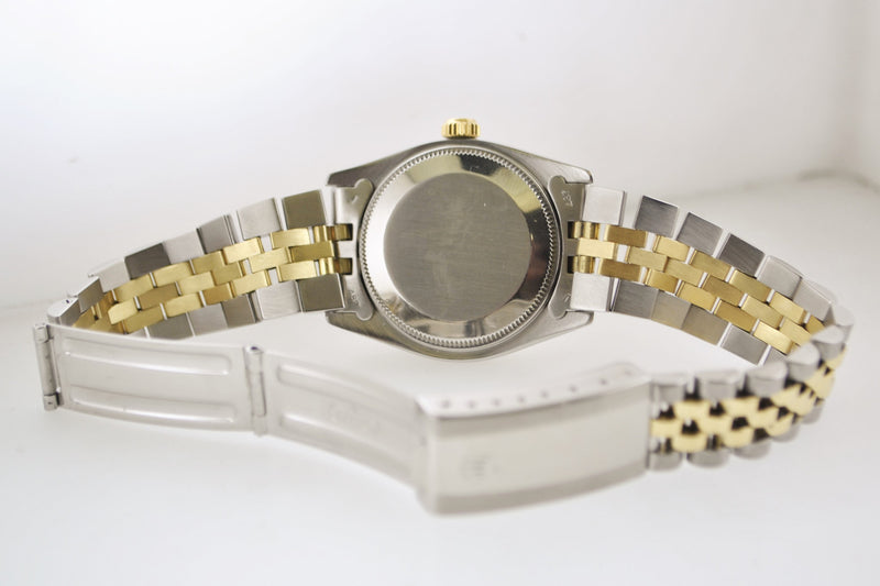 1970's Rolex Oyster Perpetual Datejust Wrist Watch Chronometer 14 Karat Yellow Gold & SS - $13K VALUE