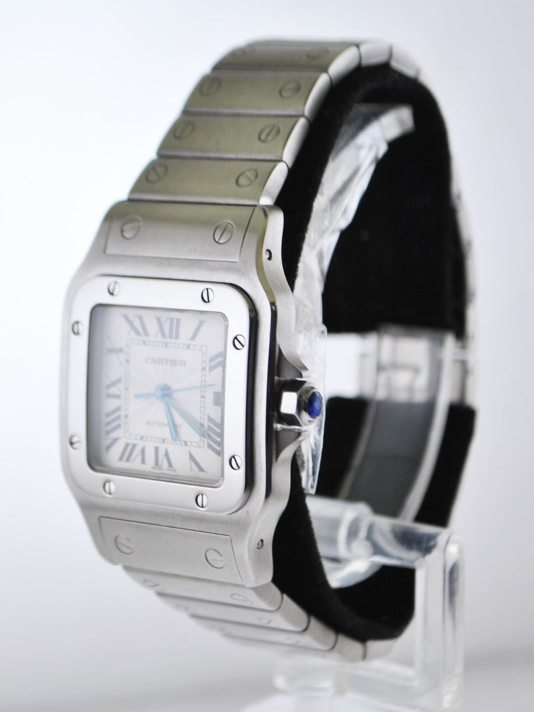 Cartier Santos #2319 Square Wristwatch Automatic Water Resistant Date in Stainless Steel - $7K VALUE