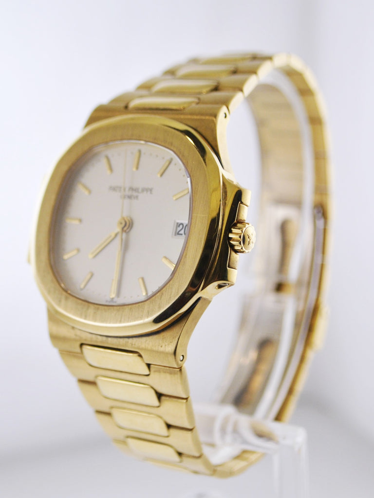 1990's Patek Philippe Nautilus 4700 Wristwatch Date Feature in 18 Karat Yellow Gold  - $75K VALUE