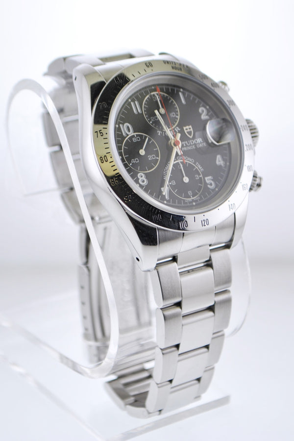 Rolex Tudor Tiger Date Chronometer Men's Wristwatch in SS - $10K VALUE