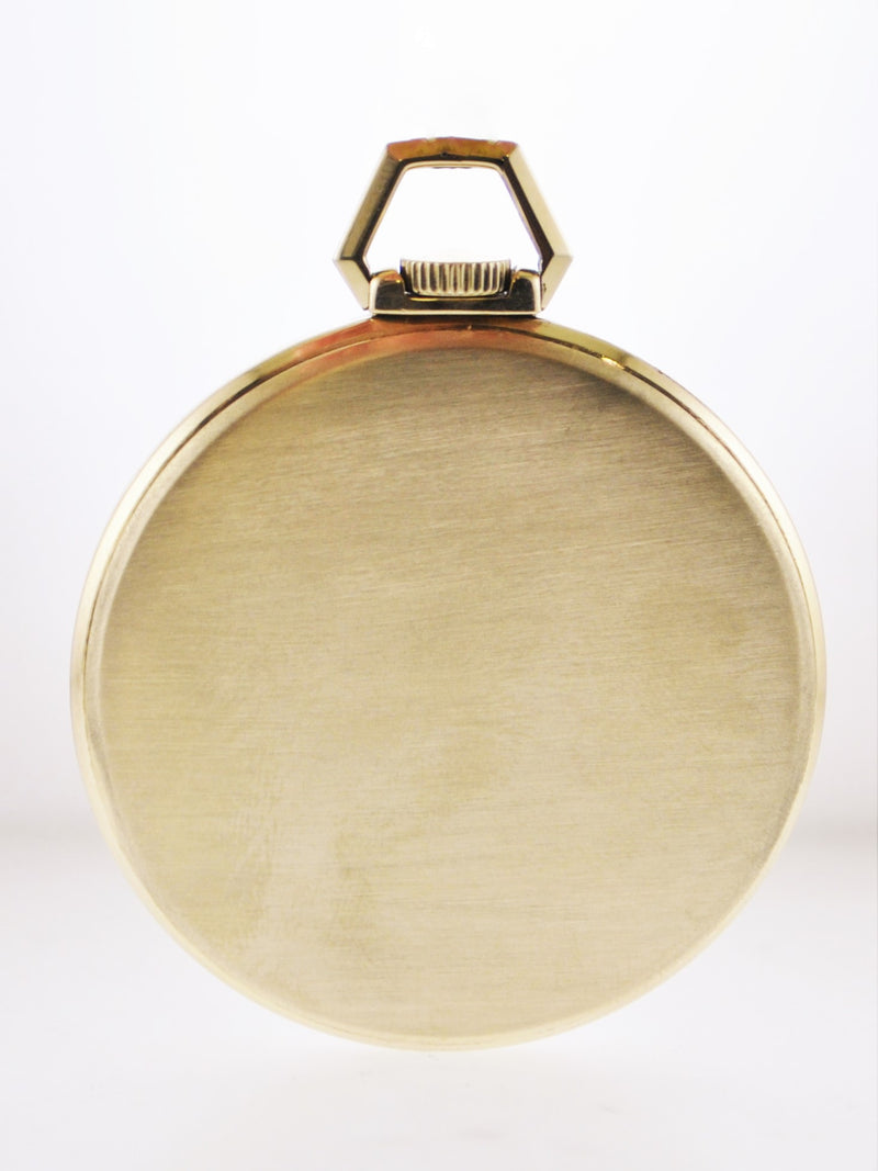 VACHERON CONSTANTIN 1950's Ultra Thin YG Pocket Watch - Triple Signed - $30K VALUE