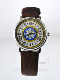 Vintage Capri The First Automatic Wristwatch Special Dial w/Date Skeleton in Stainless Steel - $5K VALUE
