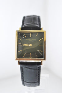 VACHERON CONSTANTIN Vintage 1940's 18K Rose Gold Square Wristwatch - $40K Appraisal Value! ✓