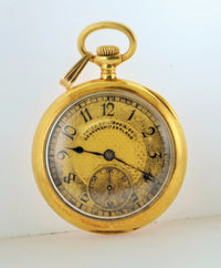 1910 Lady's Patek Philippe Miniature Pocket Watch in 18K Yellow Gold - $20K VALUE