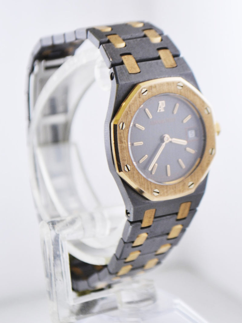 AUDEMARS PIGUET Royal Oak Wristwatch Octagonal Bezel in 18K Rose Gold & Titanium - $40K VALUE