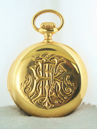 1901 Patek Philippe & Cie Pocket Watch for Leroy Fales with Hunting Case in 18K Rose Gold - $100K VALUE