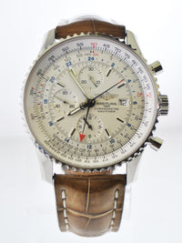 Breitling Datora Montbrilliant Wristwatch 18K Yellow Gold with Annual Calendar & Analog Date - $50K VALUE