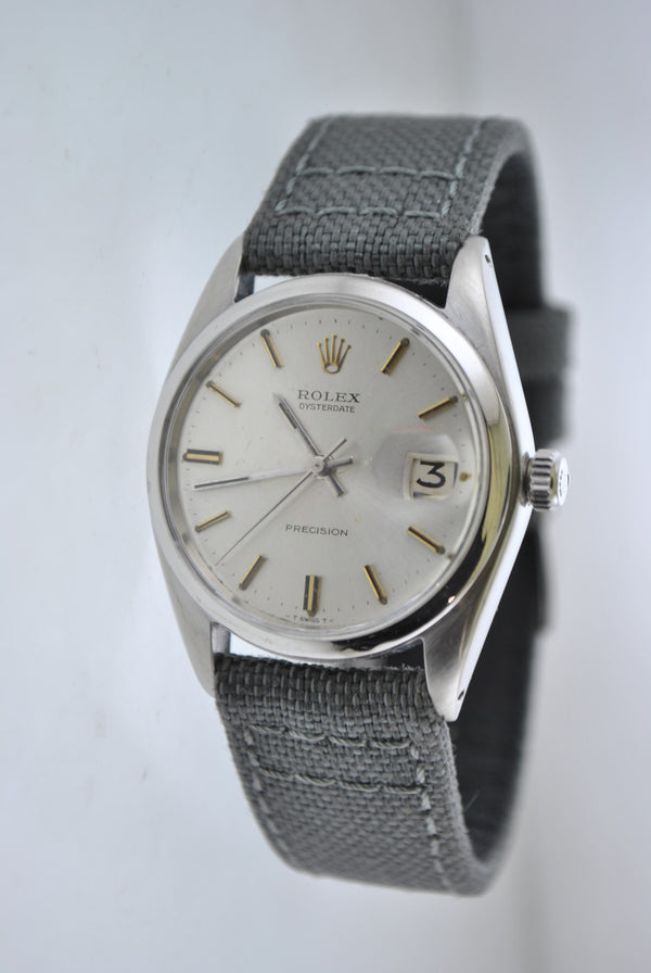 Rolex Oyster Date Precision Men's Wristwatch in SS - $10K VALUE