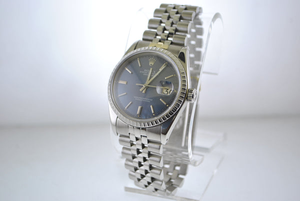 Rolex Oyster Perpetual Datejust Wristwatch in SS - $10K VALUE