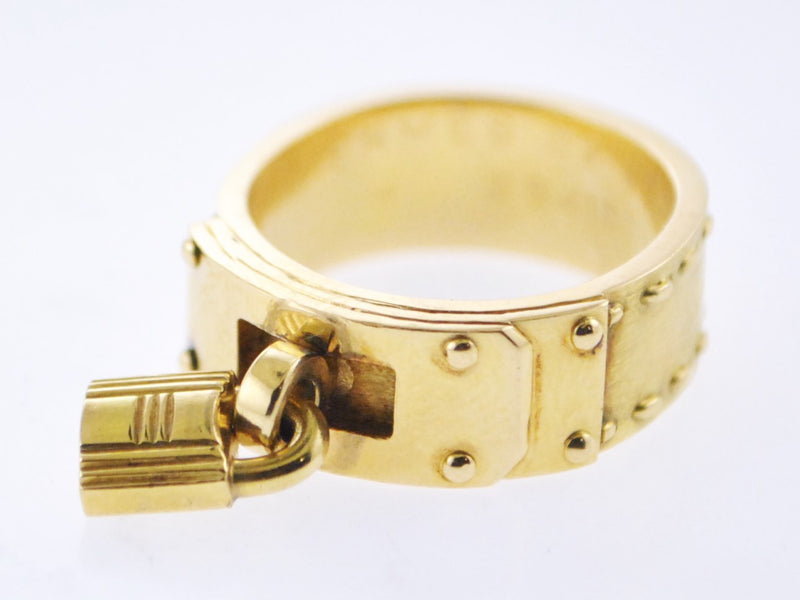 1979 Hermes Gold Ring with Signature H Lock in 18K Yellow Gold - $6.5K VALUE