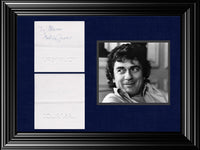 Late Actor, Comedian, Musician, Entertainer Arthur Star Dudley Moore Signed Tourneau Card - $1K VALUE