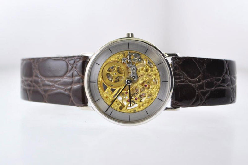 VACHERON CONSTANTIN Incredibly Rare Skeleton 18K White Gold Watch - $125K Appraisal Value! ✓