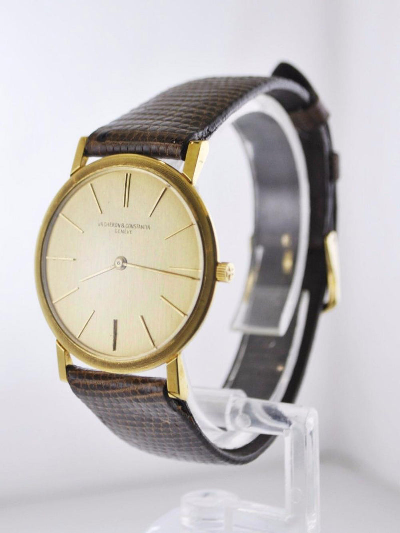 VACHERON CONSTANTIN Vintage 1950's Ultra Thin 18K Yellow Gold Watch - $40K Appraisal Value! ✓