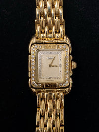 TABBAH Saga De Tabbah 18K Yellow Gold Ladies Watch w/ 28 Diamonds! - $40K Appraisal Value! ✓