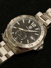 TAG HEUER Formula 1 Calibre 6 SS Men's Automatic Watch #WAZ2110 - $4K Appraisal Value! ✓
