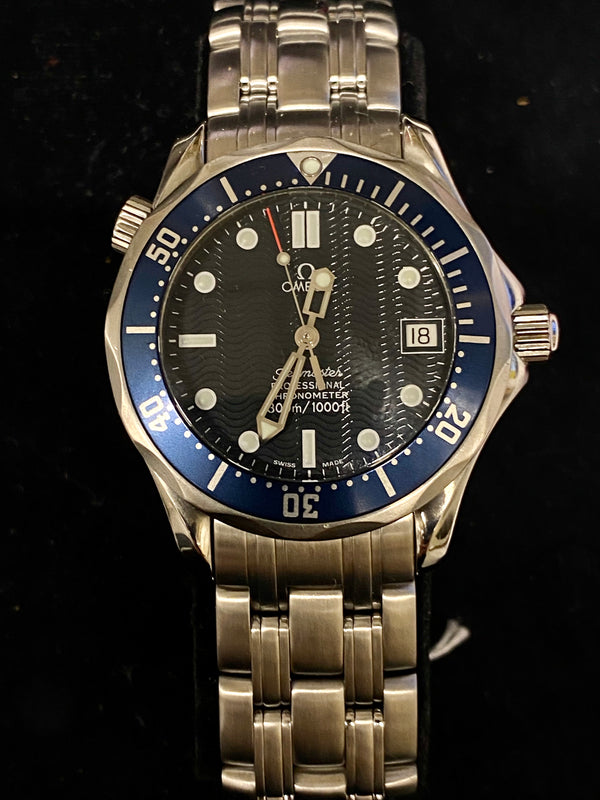 James Bond OMEGA Sea Master Stainless Steel Chronograph Ref. #2531.80 - $8K VALUE!