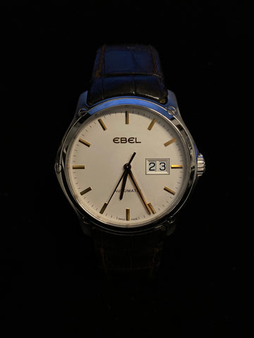 EBEL Classic Hexagon Automatic Watch w/ Date Feature - $7K Appraisal Value!