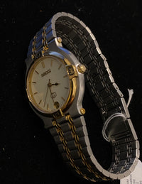 GUCCI Classic Date Quartz Unisex Two Tone Watch, Ref. #9000M - $3K Appraisal Value! ✓