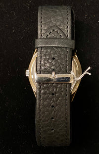JULES JURGENSEN Vintage 1970'S  Art Deco-style Stainless Steel Men's Watch - $3K Appraisal Value! ✓