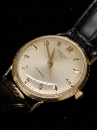LONGINES Admiral 1200 Vintage 1960s Automatic Watch with Custom Engraved Back - $6K Appraisal Value! ✓