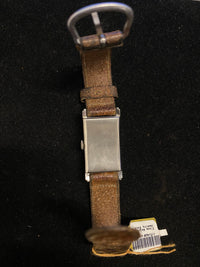 LYCEUM Vintage C. 1930s Men's Stainless Steel Rectangular Wristwatch - $5K Appraisal Value! ✓