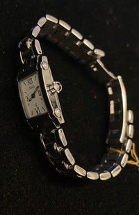 PHILIPPE CHARRIOL Incredible Stainless Steel Ladies Wristwatch w/ Special Crown - $6K Appraisal Value! ✓