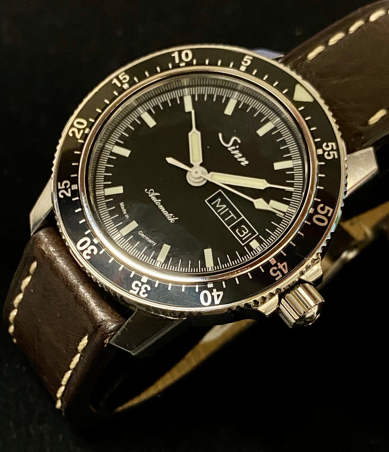 SINN Very Rare 104 ST  Automatic 26-Jewels Stainless Steel Men's Watch w/ Day/Date Feature - $4K Appraisal Value! ✓