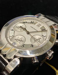 HARRY WINSTON Amazing No. 101 18K White Gold Men's Chronograph - $60K Appraisal Value! ✓