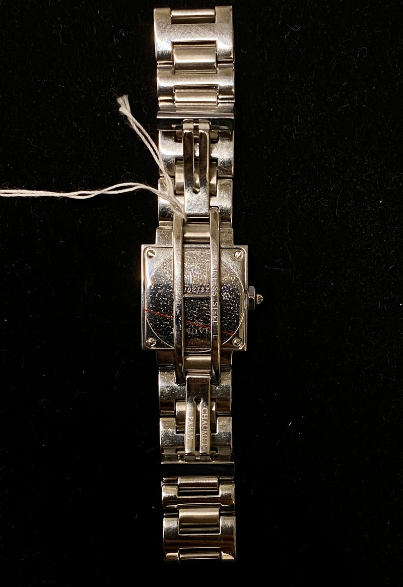 CHAUMET Stunning Khesis Stainless Steel Ladies Watch - $8K Appraisal Value! ✓