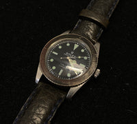 ROLEX Very First Edition Submariner from 1957 Ref. #6536 Incredible Collector's Piece - $100K Appraisal Value! ✓
