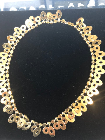 BVLGARI NECKLACE, 18 K YELLOW GOLD, C 20TH CENTURY, ITALY, APR $20K