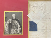 Original King George III Appointment Letter - $6K APR Value with CoA!