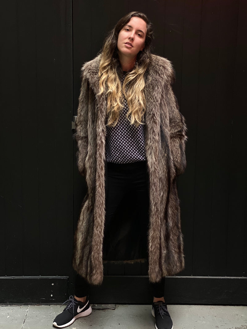 Rare Vintage Lady's Fur Coat by Pierre Furs in Very Good Condition - $20K Appraisal Value!