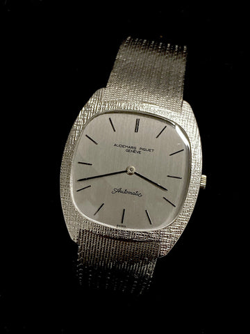 Audemars Piguet Automatic in 18K White Gold - $50K Value w/CoA!