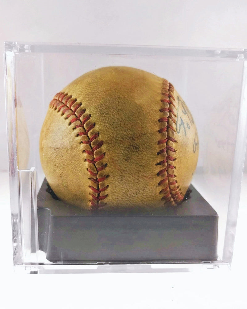 1930s Original Babe Ruth Single Signed Baseball Mint Condition w/ PSA/DNA COA- $50K VALUE