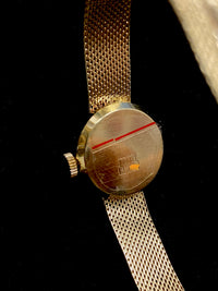 MERONA Vintage Circa 1960's Ladies Yellow Gold Wristwatch - $10K Appraisal Value! ✓