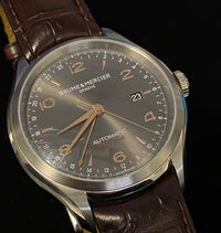 BAUME & MERCIER Clifton Ref. #65730 Customized Automatic Watch - $7K Appraisal Value! ✓