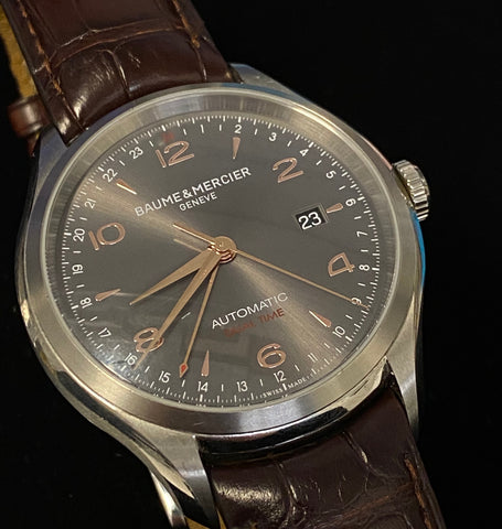 Custom BAUME & MERCIER Clifton Ref. #65730 Automatic Watch - $8K VALUE