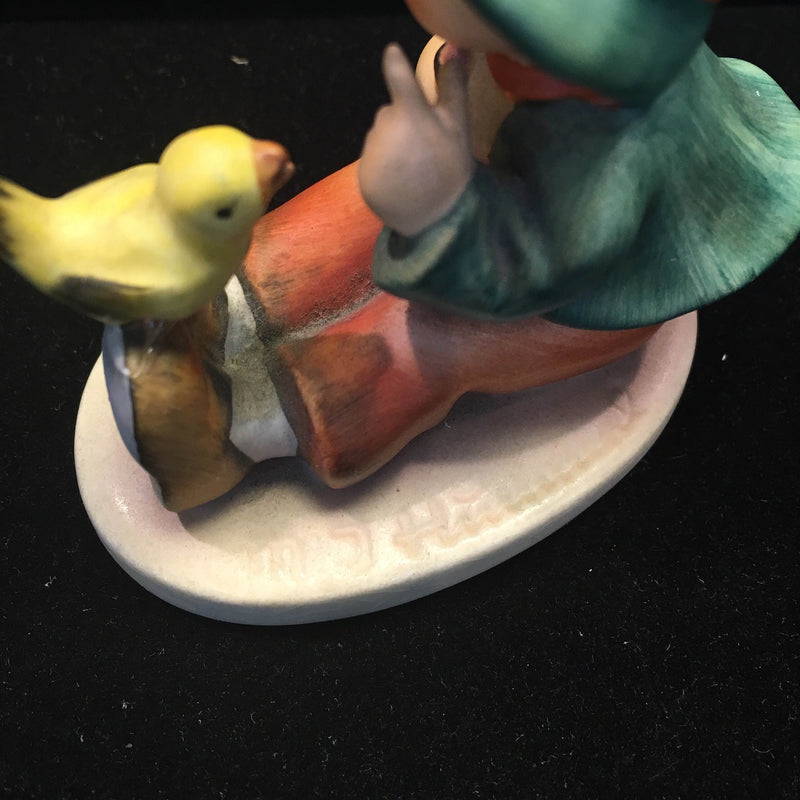"Goebel Hummel ""Singing Lesson"" Collectible Signed Figurine, circa 1960s - $800 VALUE*"