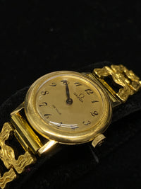OMEGA De Ville Yellow Gold Extremely Rare and Unique Vintage Watch - $20K Appraisal Value