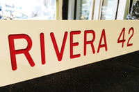 1997 Mariano Rivera Locker Nameplate One of a Kind from Major League Baseball All-Star Game $10K VALUE