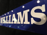 Bernie Williams Locker Nameplate Rare Collectible Baseball NY Yankees & MLB w/COA $1K VALUE