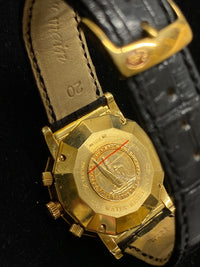 CORUM Admiral's Cup Chronograph 18K Yellow Gold Wristwatch - $40K Appraisal Value! ✓