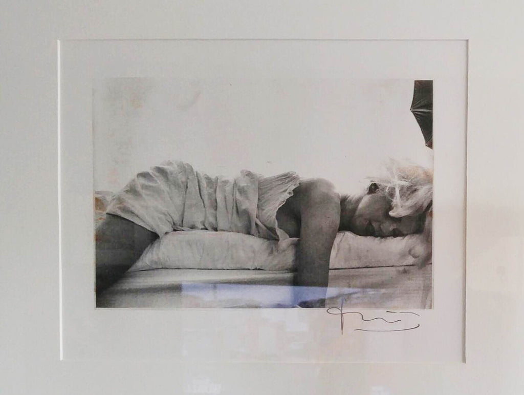 Bert Stern Marilyn Monroe Reclined Photo The Last Sitting Signed - $10K VALUE!!