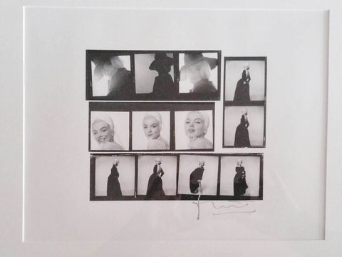 1962 Bert Stern Marilyn Monroe Posing Set of Photographs The Last Sitting $10K VALUE!!