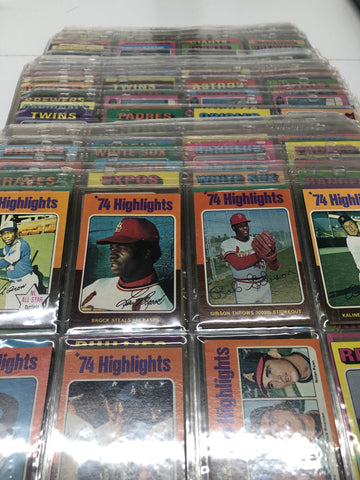 1975 Topps Rookie Baseball Card Complete Set $6K Value!